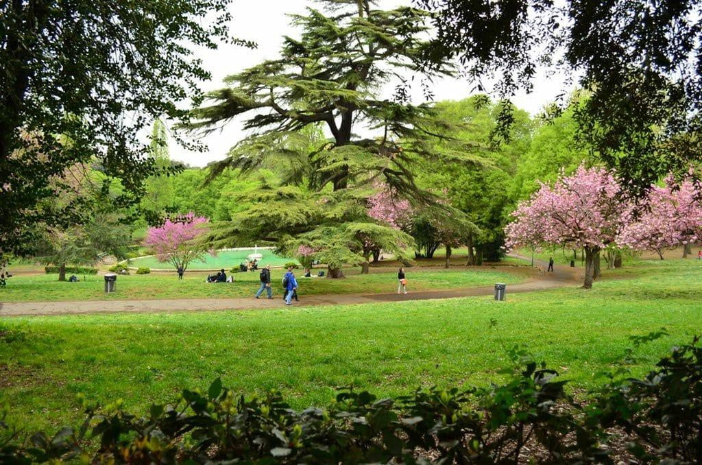 villa borghese parc
