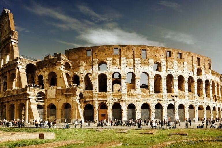 visiter le colisee rome soleil