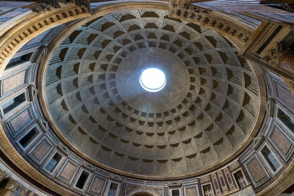 coupole du pantheon de rome