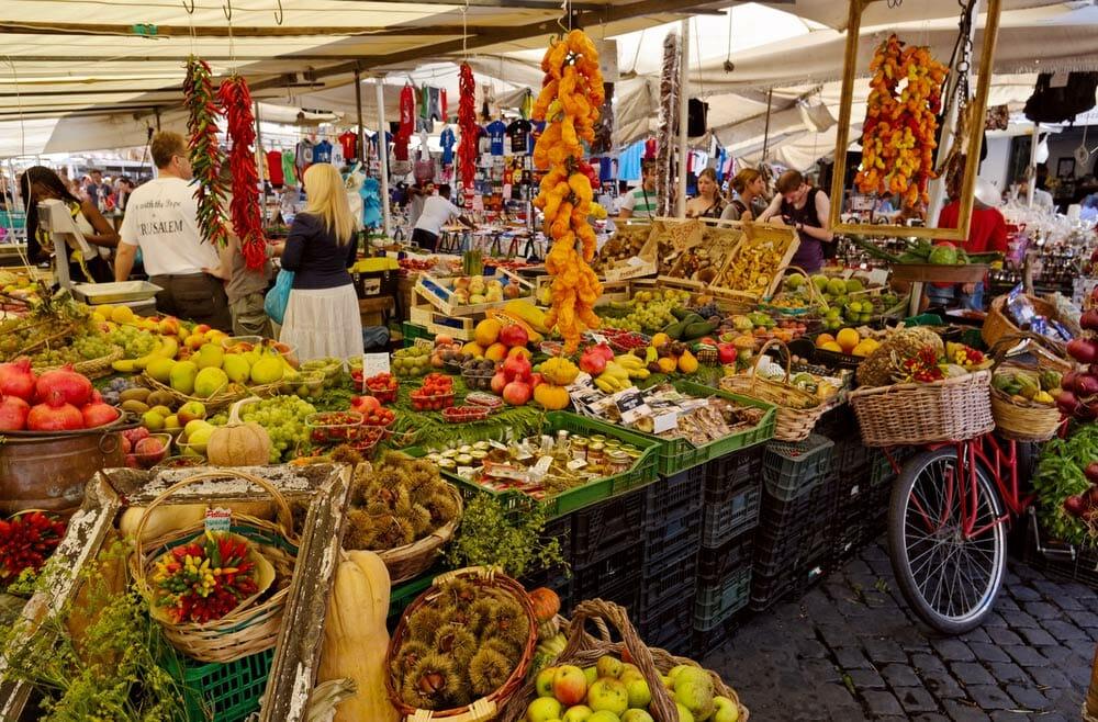 market campo dei fiori rome