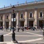 musee capitole rome facade palais neuf