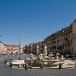 piazza navona rome vue de la place