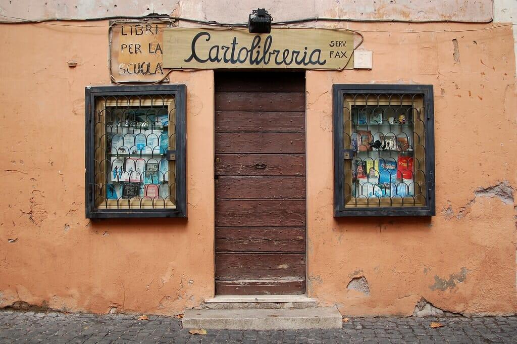 visiter trastevere boutique cartolibreria
