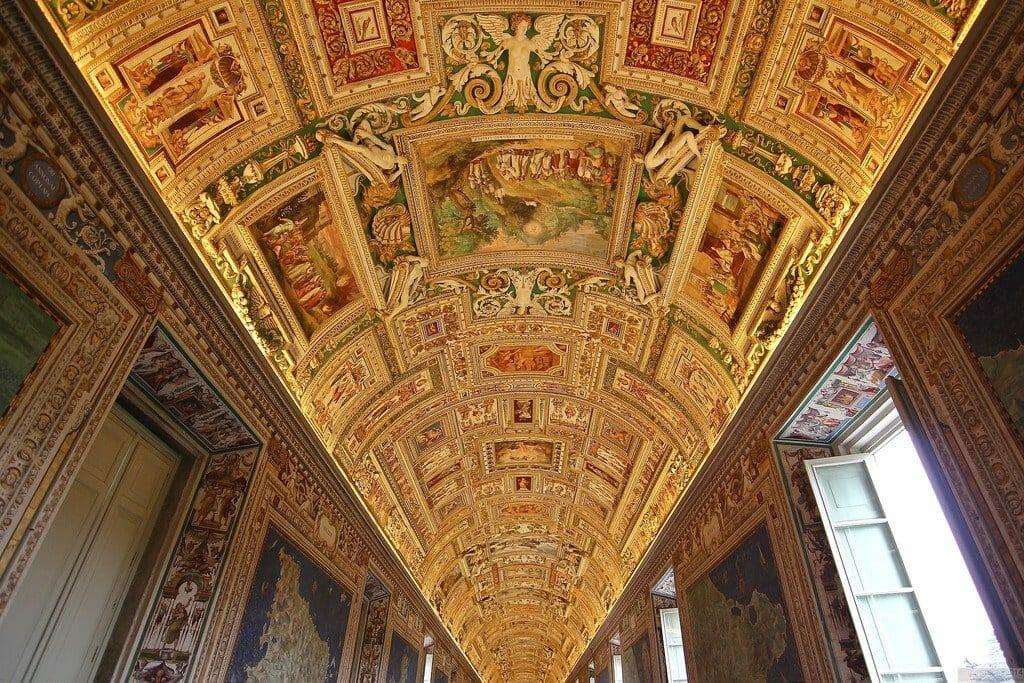 chapelle sixtine plafond vatican