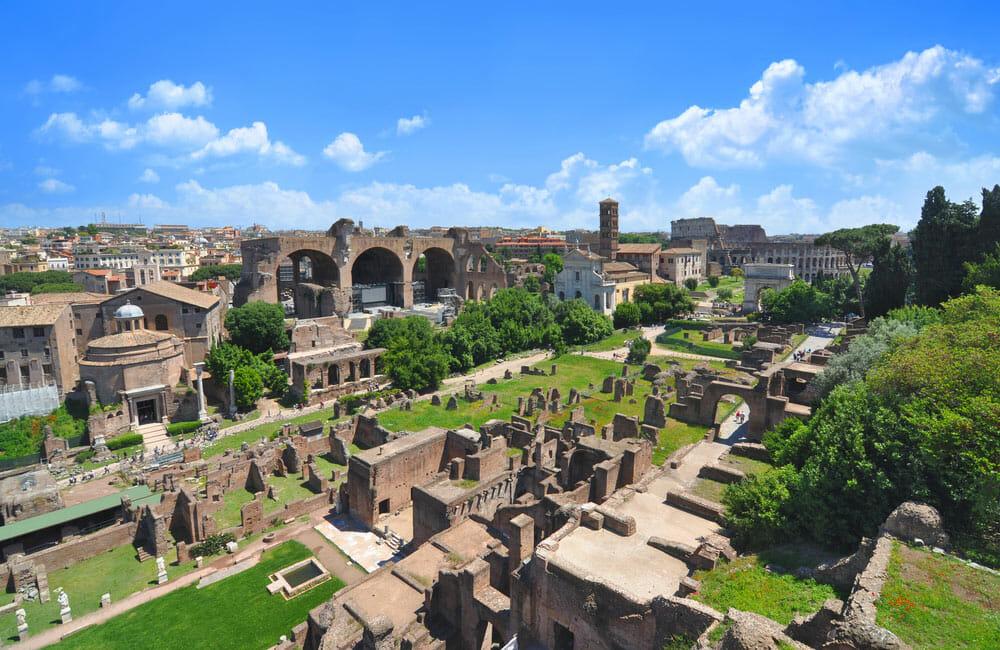 Visiter le Forum Romain et le Mont Plalatin à Rome