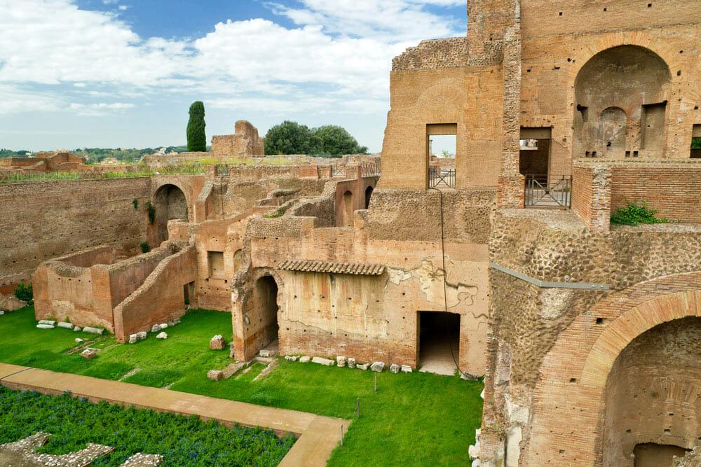 Maison d'Auguste Mont Palatin Rome