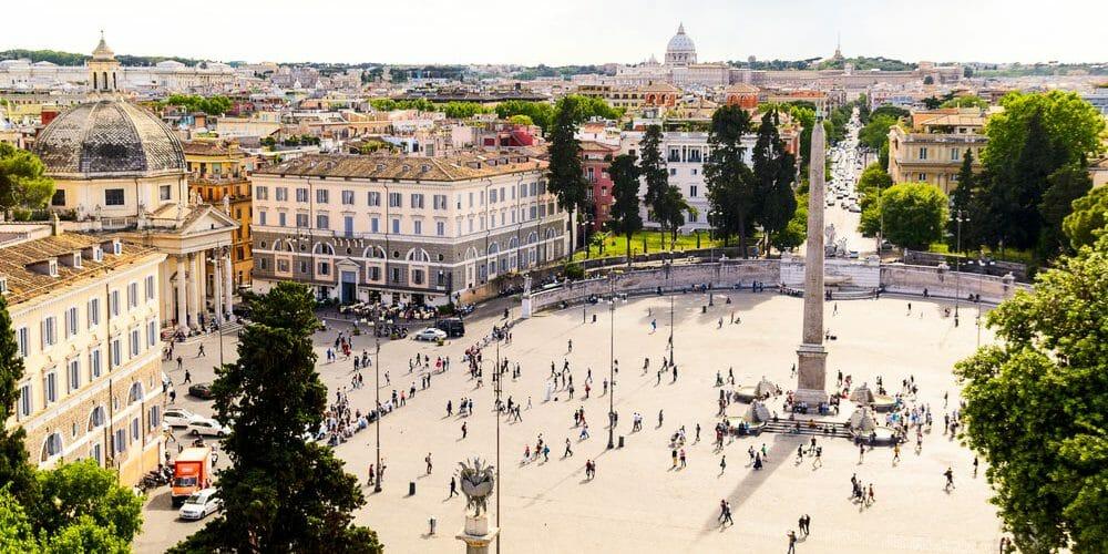 piazza di popolo rome