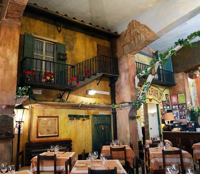 restaurant place espagne rome