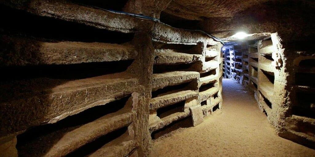 visite catacombes rome saint priscille