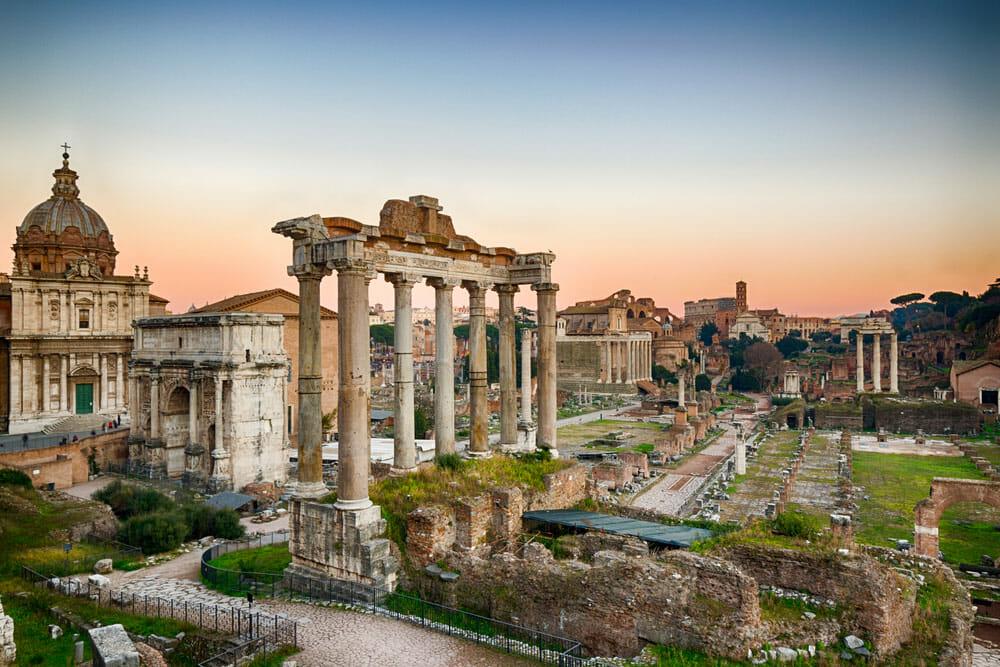 Visiter Forum Romain et Mont Palatin Rome Italie