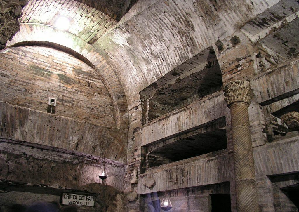 visiter les catacombes de rome saint calixte