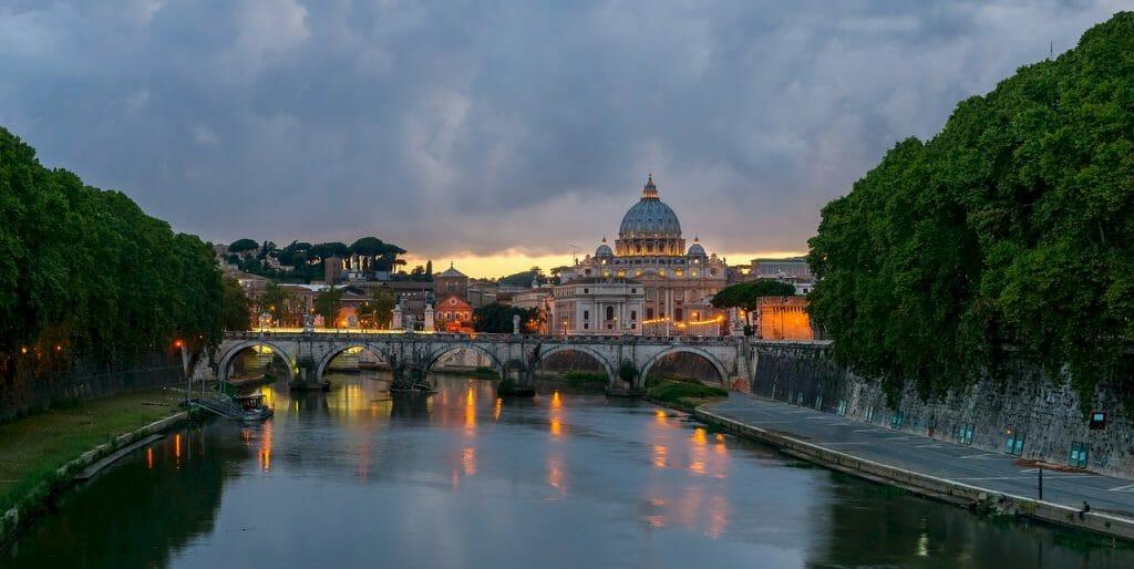itineraire de visite de rome italie
