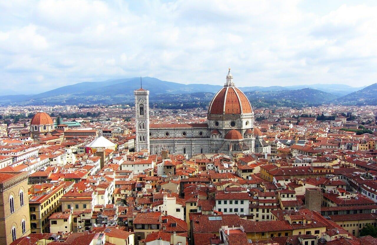 visite florence depuis rome italie