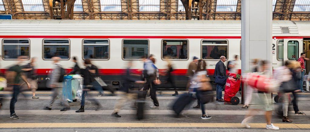 gare rome leonardo express Fiumicino