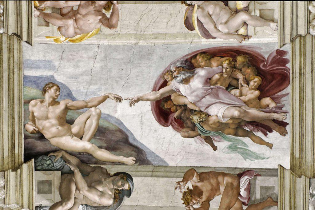 chapelle sixtine plafond