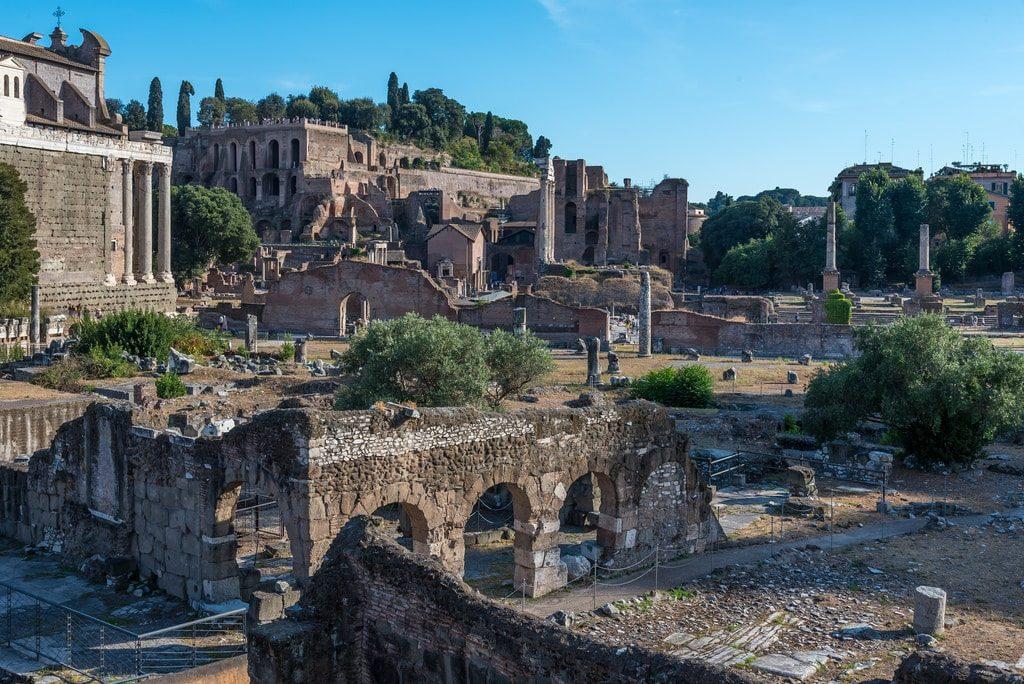 visiter mont palatin forum romain