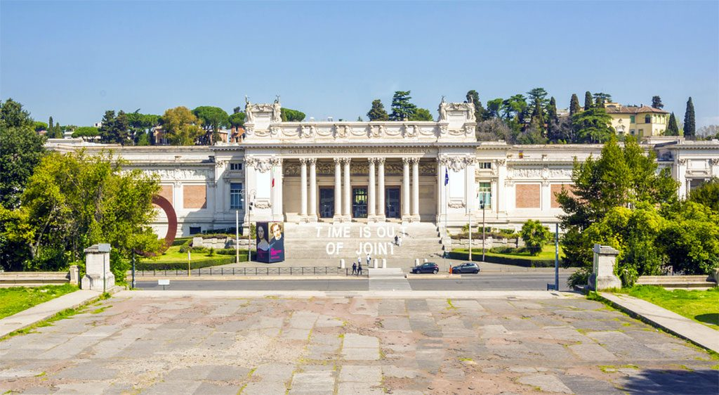gallerie nationale art moderne villa borghese rome