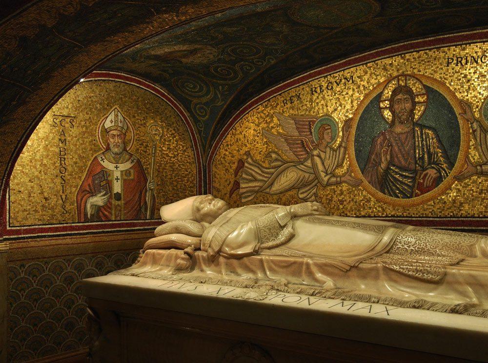 grottes sacrees basilique saint pierre