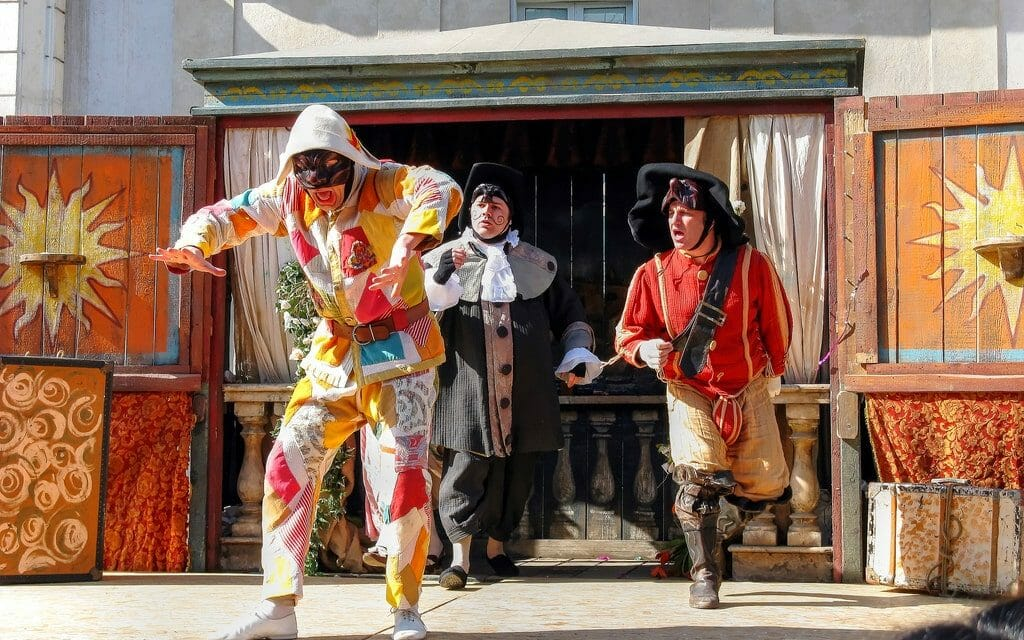 carnaval rome fevrier