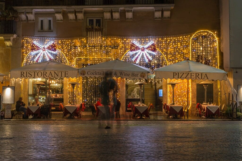 illumination noel rome