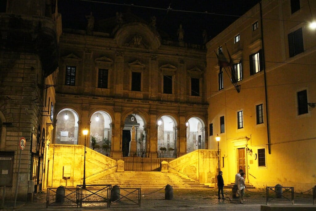 visite guidee rome nuit