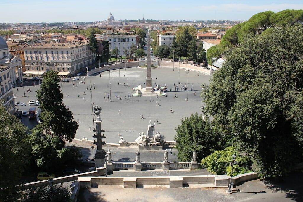 place saint pierre rome noel