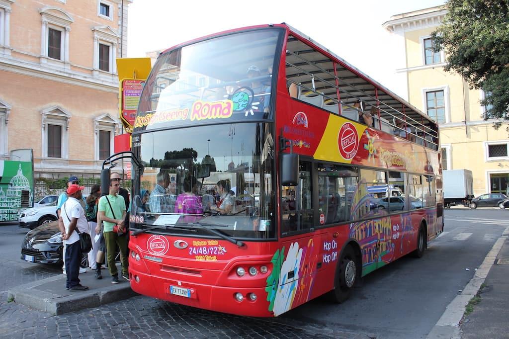bon plan transport rome open bus