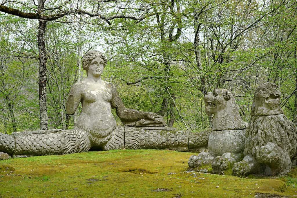 jardin des monstres bomarzo