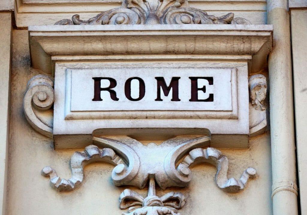 météo rome en février